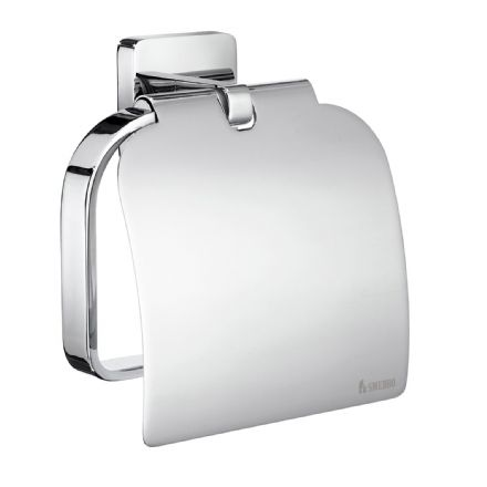 Smedbo Ice Toilet Roll Holder With Cover